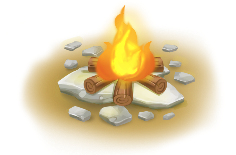 Transparent clipart psd peoplepng. Vector campfire white background image black and white