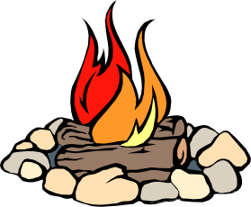 Cartoon icon royalty free. Vector campfire white background graphic transparent download