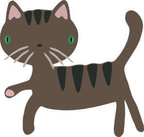 Vector cats cute cat. Clipart at getdrawings com