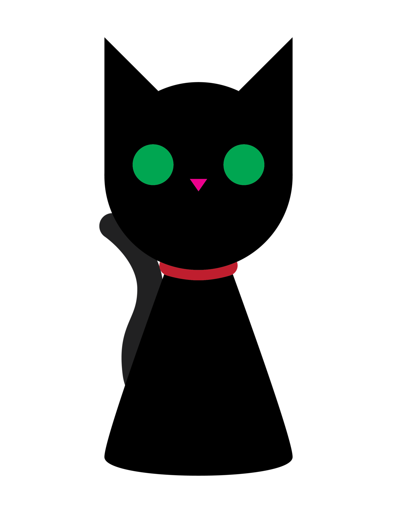 Vector cats simple. Nlnme a nice and