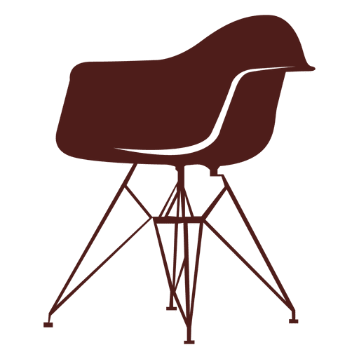 Charles i ray eames. Vector chair image free download