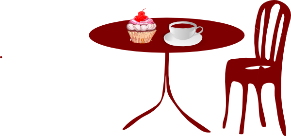 Vector chair cafe. Collection of free clipart