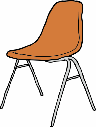 Vector chair classic. Collection of free abought