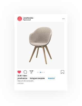 Vector chair dsr. Home instagram funiter