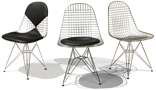 Vector chair dsr. Ray and eames house