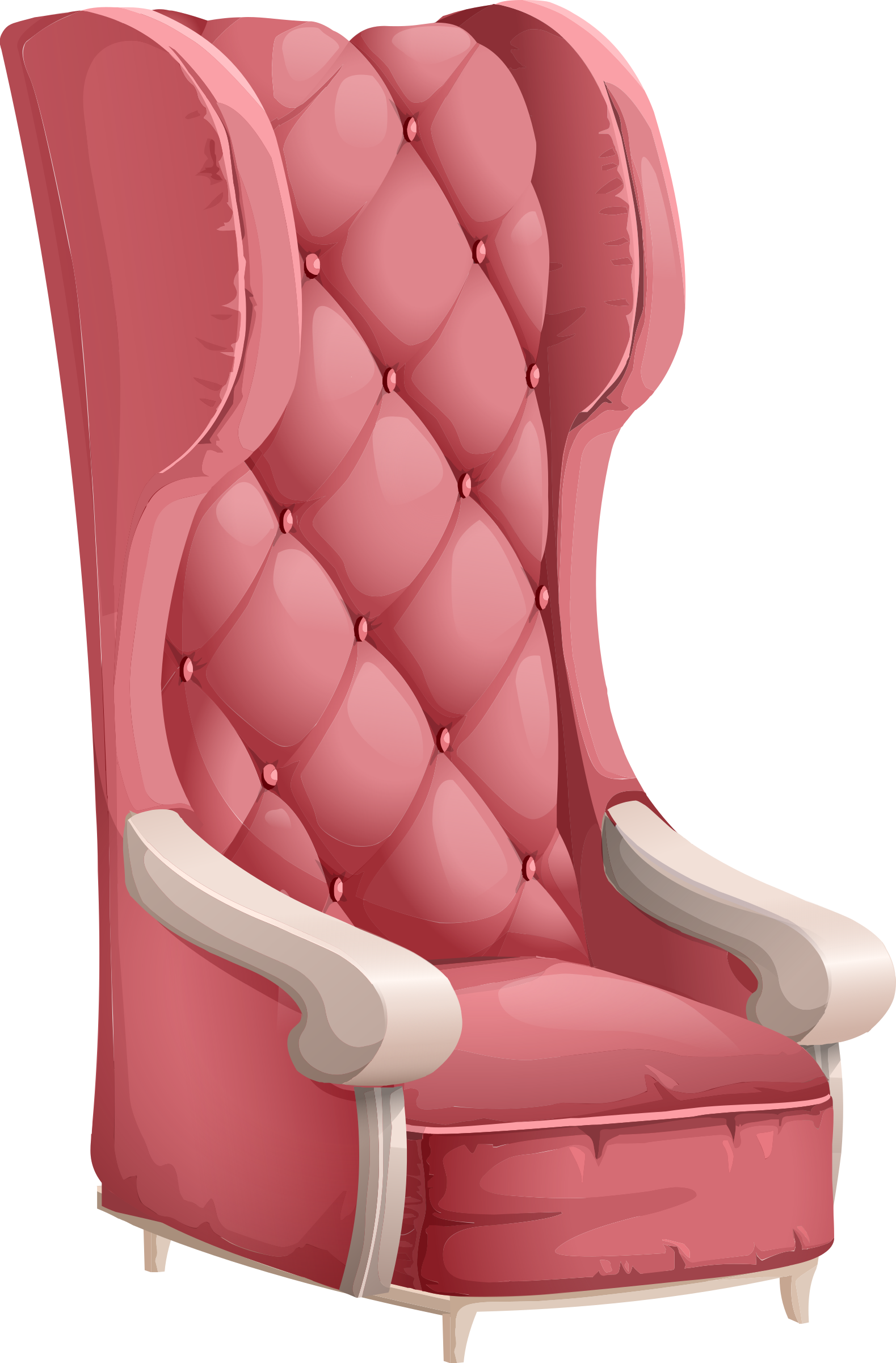 Vector chair fancy. Old fashioned icons png