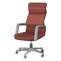 Vector chair fancy. Silhouettes collection download
