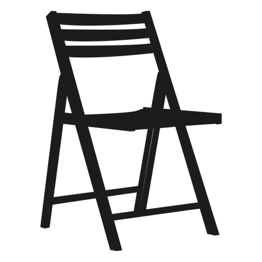 vector chair folding