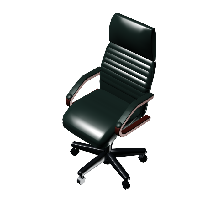 Vector chair manager. Ds max models