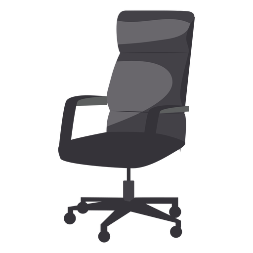 Vector chair office. Leather icon transparent png