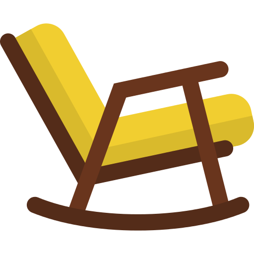 Vector chair rocking. Png icon repo free