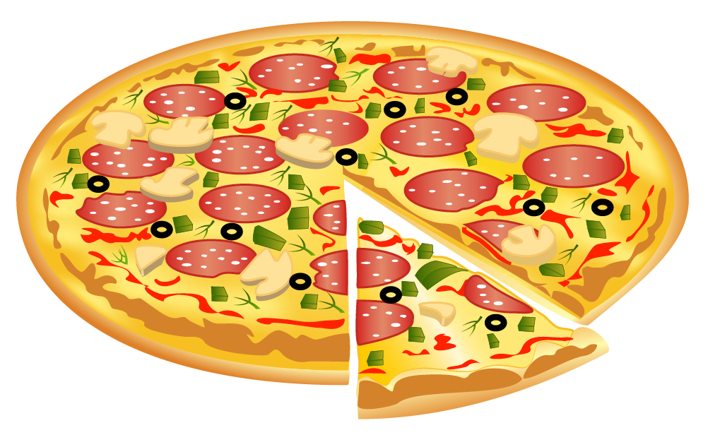 Brochure vector pizza. Png image gallery yopriceville