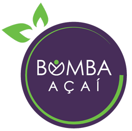 Vector chalkboard smoothie bar. Bomba acai smoothies and