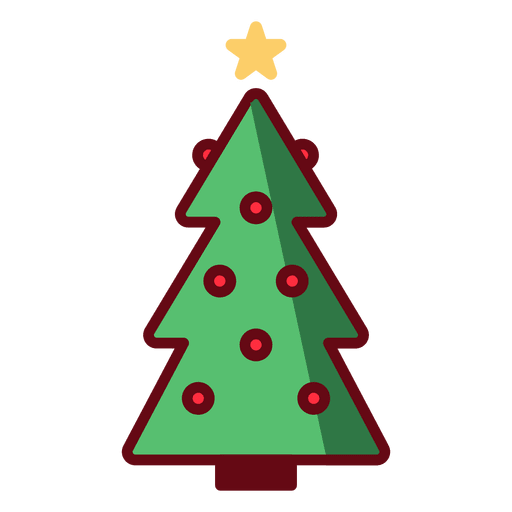 Vector christmas ornaments png. Tree illustration transparent svg