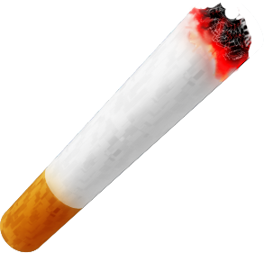 Vector cigarette. Png free icons and