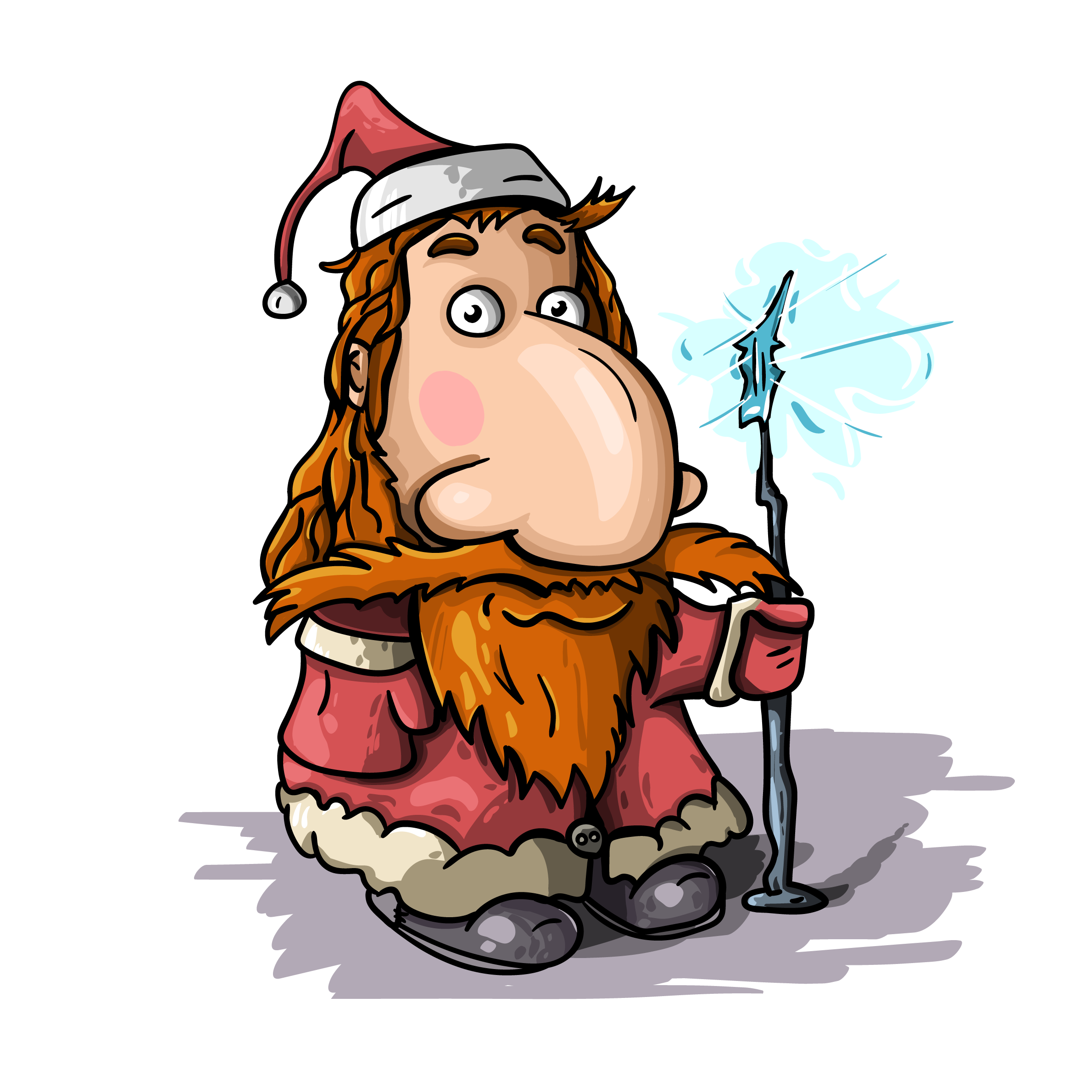 Claus clipart free vectors. Vector santa clipart black and white download