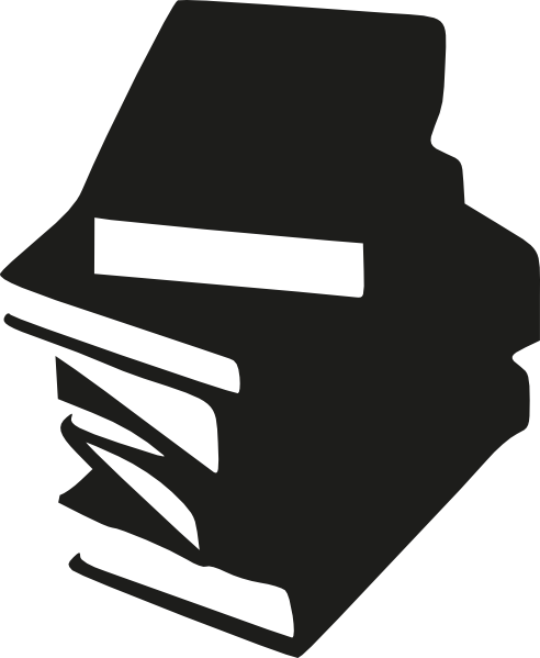 Vector clipart book. Stack of books clip