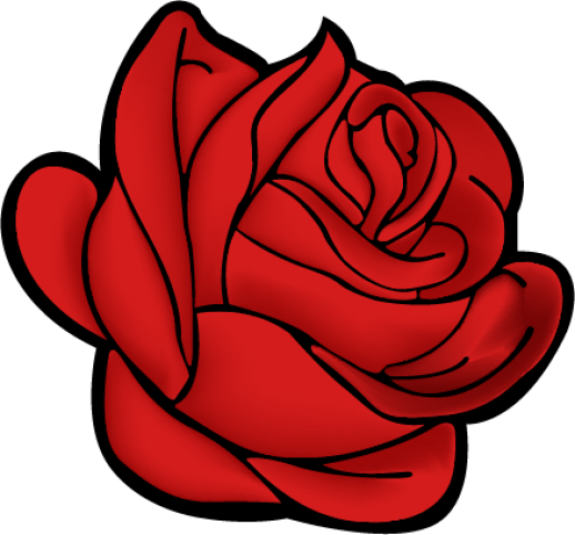 Bouquet vector rose illustration. Free roses download clip