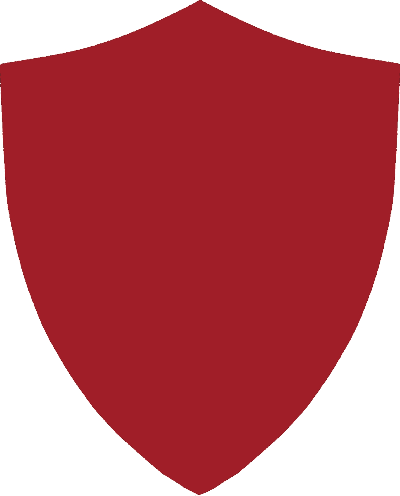 Vector clipart shield. Inset mirror red free