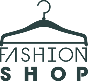 Vector clothes. Fashion shop hanger logo