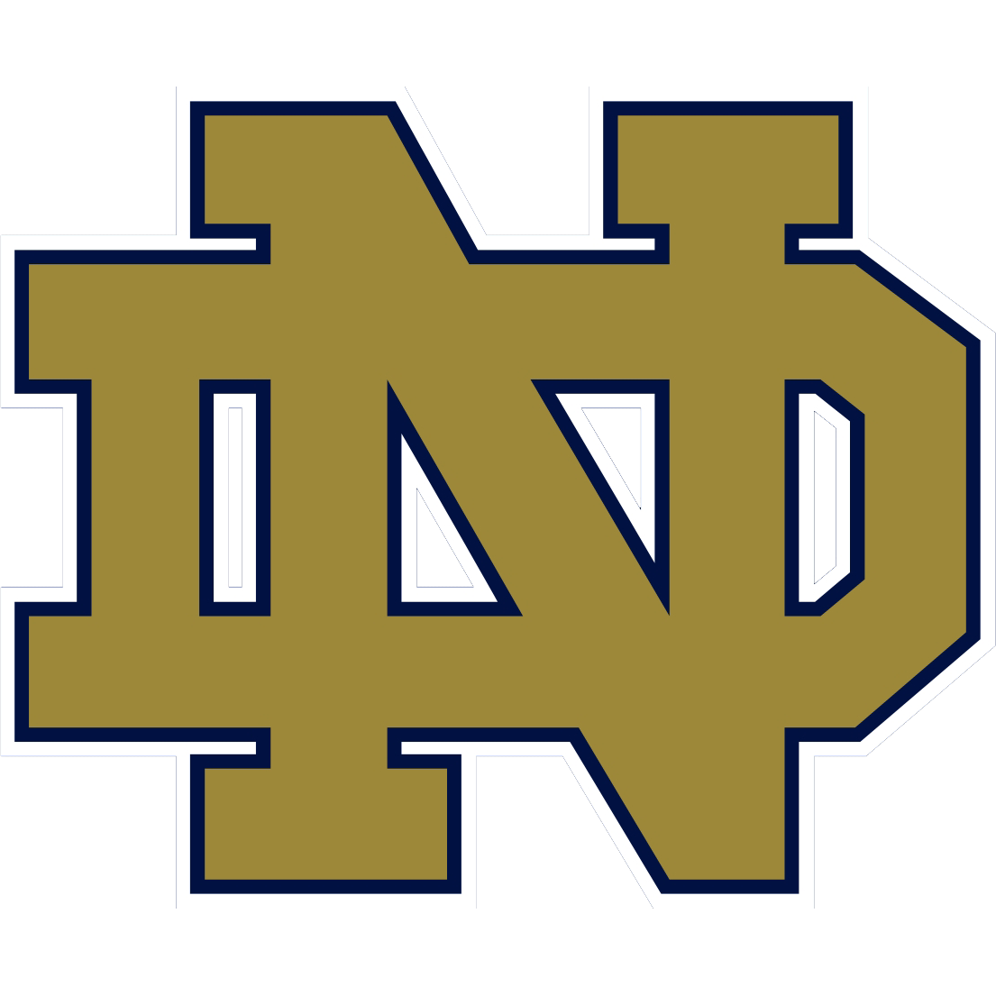 Vector clover notre dame. Symbol fighting irish gallery