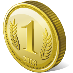 Vector coin bronze. Icons png free and