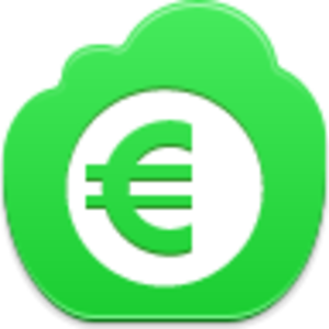 Vector coins euro. Coin icon free images