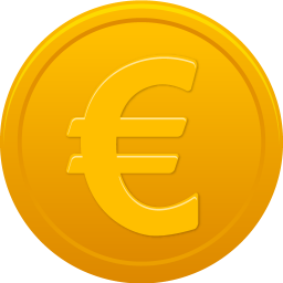 Vector coins euro. Download coin icon vectorpicker