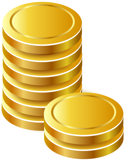 Vector coins gold. Download free fine bullion