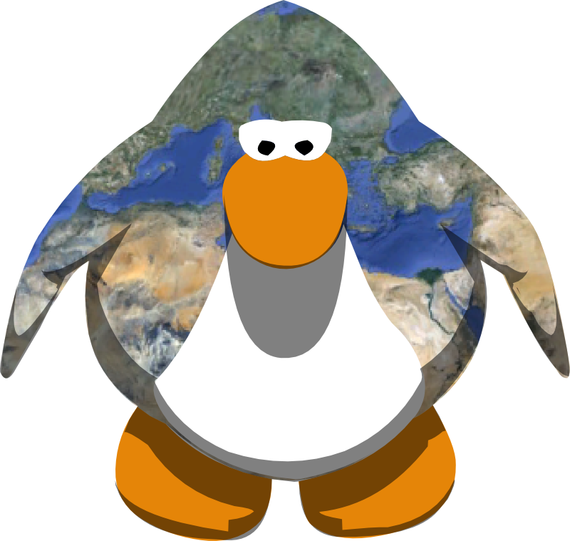User blog penguin pal. Vector colors jpg