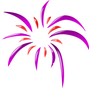 Firework clip at clker. Vector colors art clip art transparent library