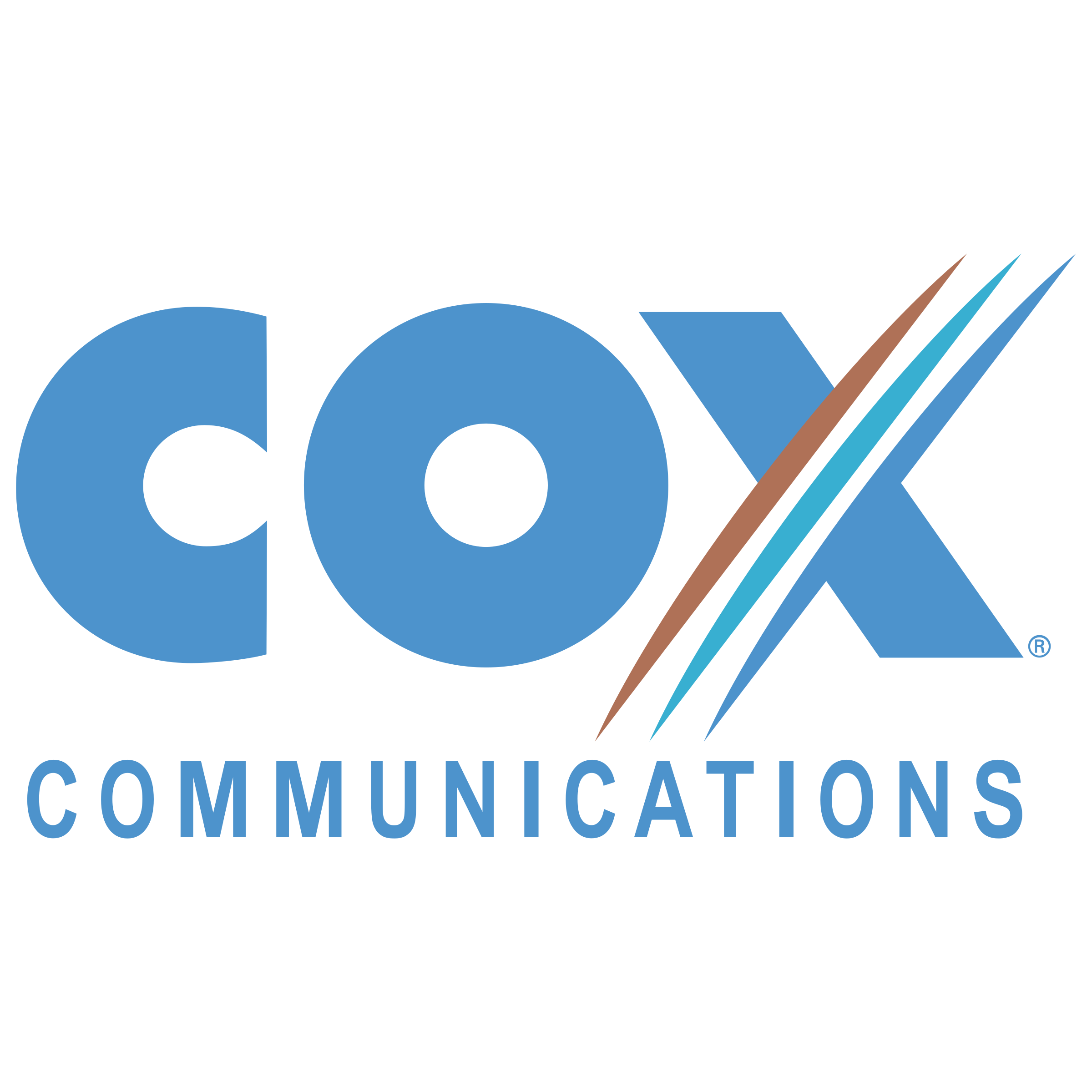 Vector communications. Cox logo png transparent