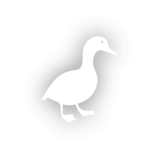 Vector contact duck. Icon transparent png svg