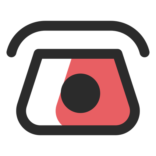 Vector contact svg. Rotary telephone icon transparent