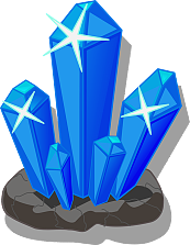 Vector crystal banner. Dialog icon free download