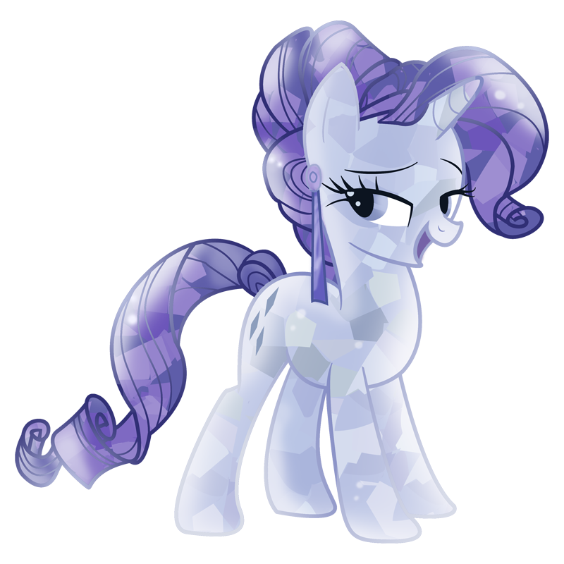 Vector crystal crystallized. Alternate hairstyle butt