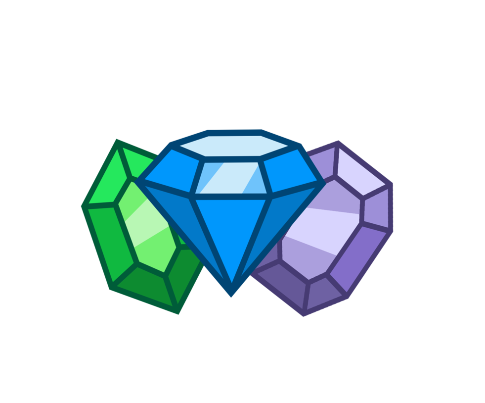 Cutie mark adoptable closed. Vector crystal gemstone picture freeuse stock