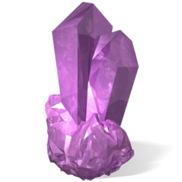 Amethyst free images at. Vector crystal gemstone clip art royalty free download