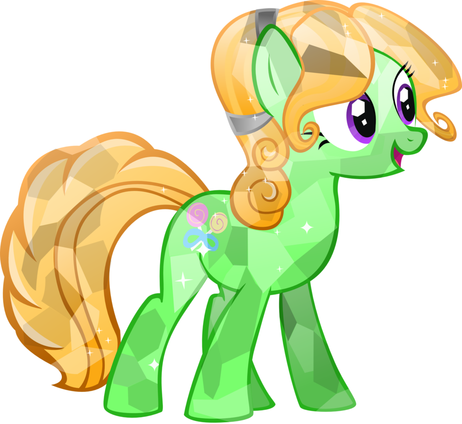 Vector crystal sharp. Candy floss by brony