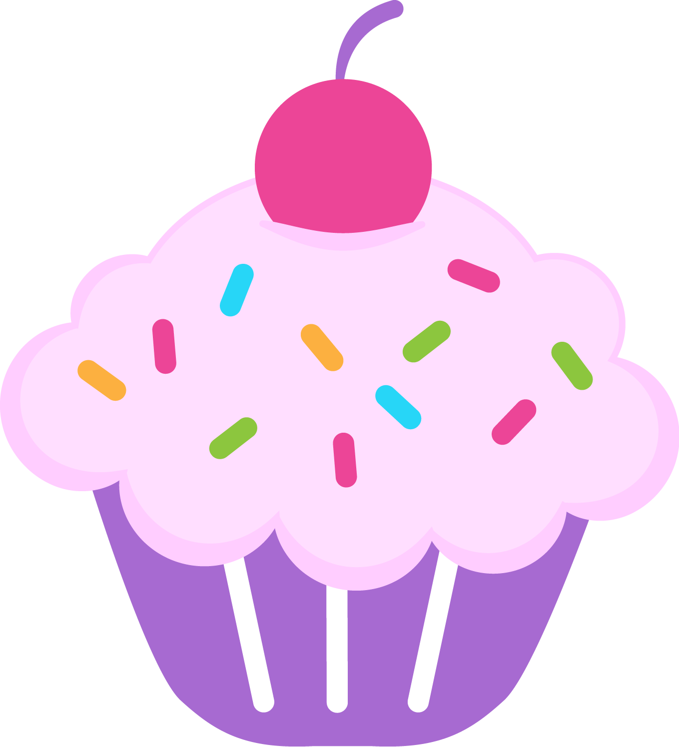 Muffin svg printable. Birthday cupcake clipart images
