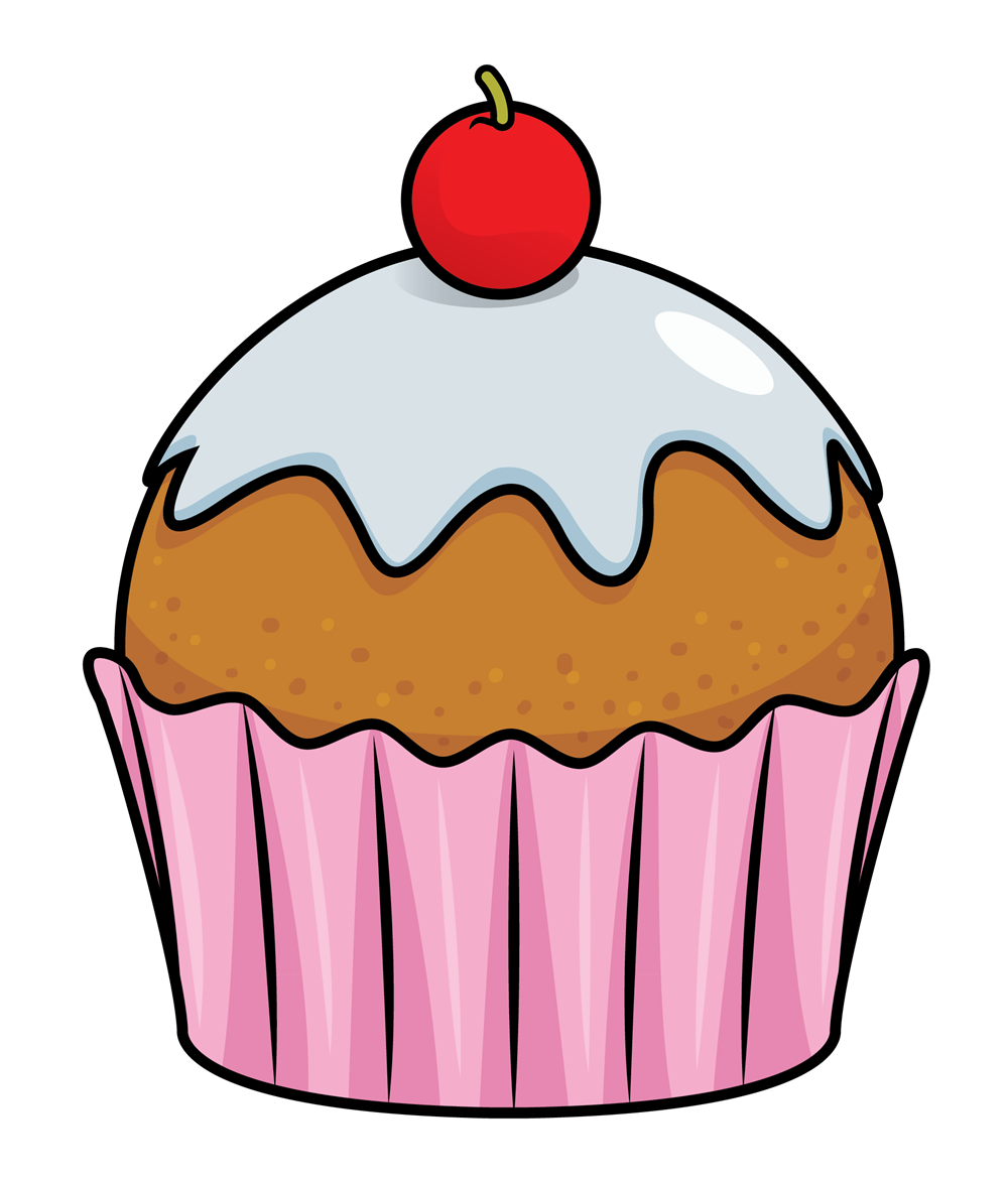 Vector cupcakes fancy cupcake. Pin by marina on