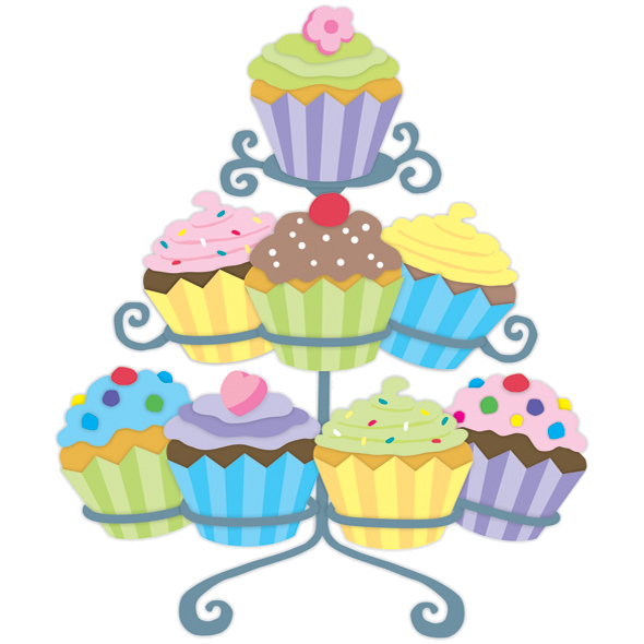 Vector cupcakes holder. Cake stand png