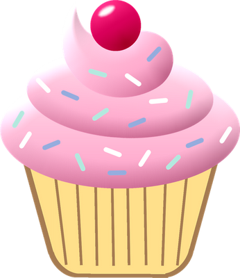 Vector cupcakes illustrated. Pinterest cupcake clipart and
