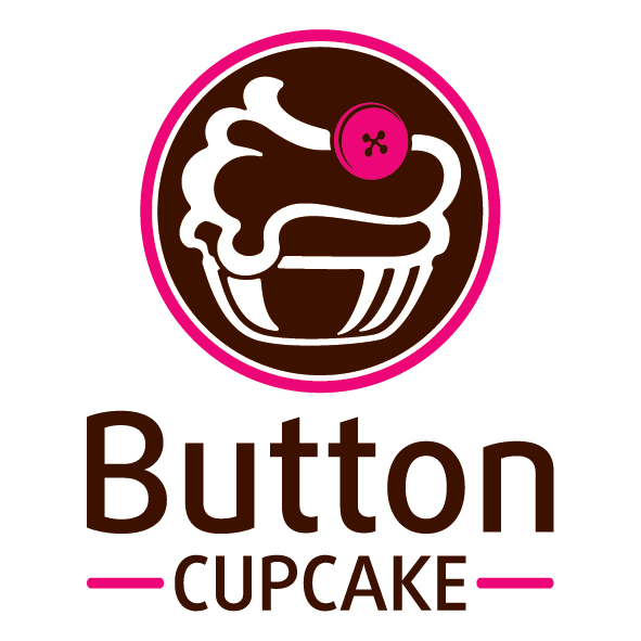 Vector cupcakes cherry top. Button cupcake brands of