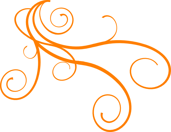 Vector curls swirl. Collection of free curlycue