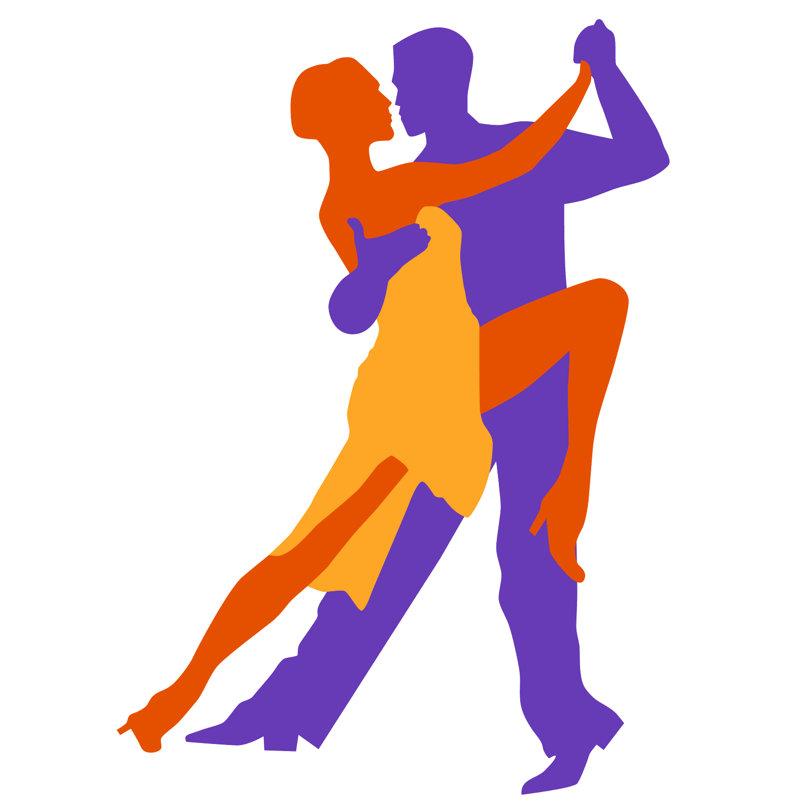 Vector dancer tango. Icon free download png