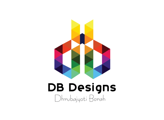 Vector db logo design. Make an awesome by