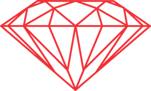 Vector diamonds. Diamond logo cdr free