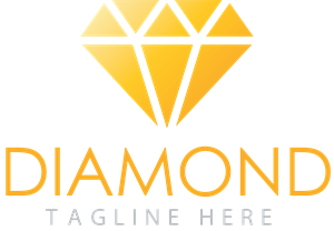 Vector diamonds logo. Diamond vectors free download
