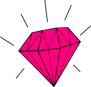 Vector diamonds pink diamond. Collection of free diamonded